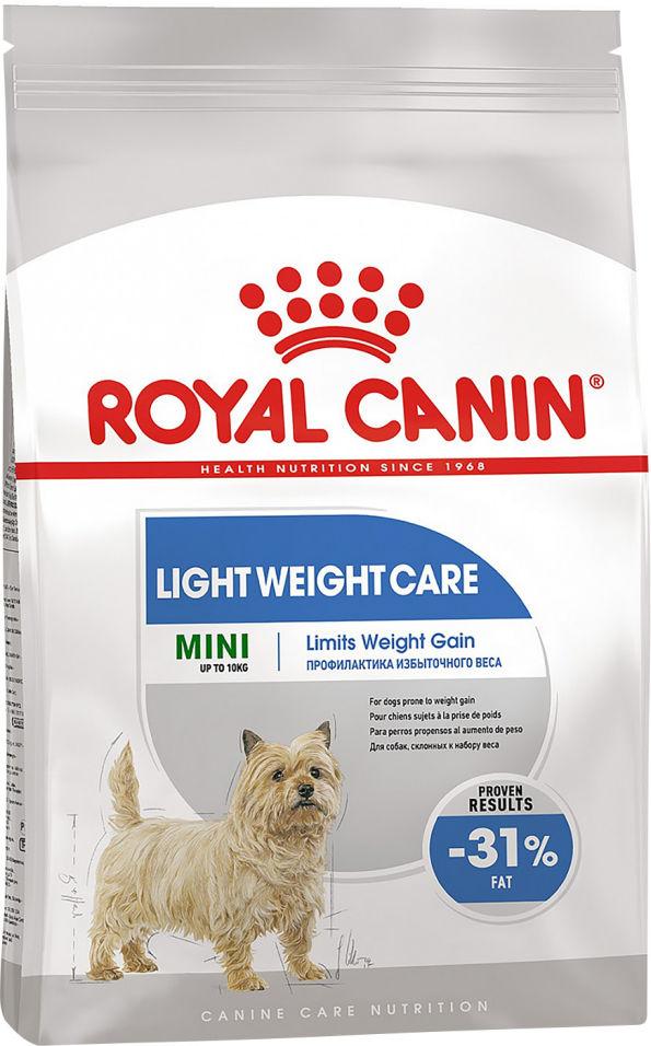 Корм для собак Royal Canin Light weight care 1кг