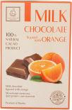 Шоколад Кортес молочный фигурный с апельсином 75г