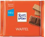 Шоколад Ritter Sport Молочный с начинкой какао и вафли 100г