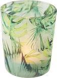 Подсвечник Magic Home Декоративный зеленые листья