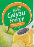 Смузи сухой Fitstart Energy Яблоко апельсин имбирь чиа 20г
