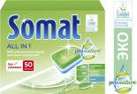 Таблетки для посудомоечных машин Somat All in 1 ProNature 50шт