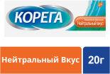 Крем Корега Ежедневная защита для фиксации зубных протезов Нейтральный вкус 20г