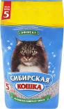 Наполнитель для кошачьего туалета Сибирская кошка Эффект впитывающий 5л
