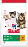 Сухой корм для котят Hills Science Plan Kitten с курицей 1.5кг