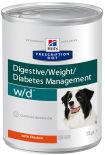 Корм для собак Hills Prescription Diet при сахарном диабете при избыточном весе с курицей 370г