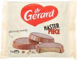 Вафли DrGerard в молочном шоколаде с какао-кремом и ореховым кремом 114г