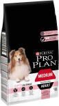 Сухой корм для собак Pro Plan Optiderma Medium Adult Sensitive Skin для средних пород для здоровья кожи и шерсти с лососем 7кг