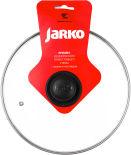 Крышка стеклянная Jarko с пароотводом 26см