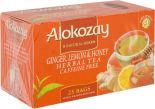 Чай травяной Alokozay Имбирь Лимон и Мед 25 пак