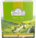 Чай зеленый Ahmad Tea 100 пак