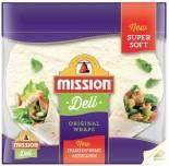Лепешки Mission Тортильи пшеничные оригинальные 250г