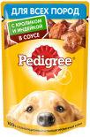 Корм для собак Pedigree с кроликом и индейкой в соусе 85г