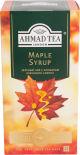 Чай зеленый Ahmad Tea Maple Syrop 25 пак