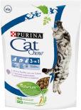 Сухой корм для кошек Cat Chow 3in1  с домашней птицей и индейкой 400г