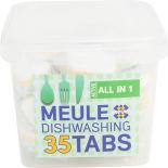 Таблетки для посудомоечных машин Meule All In1 35шт