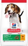 Сухой корм для щенков Hills Science Plan Puppy Medium для средних пород с курицей 800г
