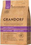 Сухой корм для собак Grandorf Adult large Ягненок с рисом 3кг