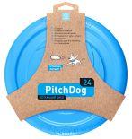 Игрушка для собак Collar PitchDog Летающий диск голубой 24см