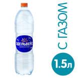 Вода Эдельвейс минеральная газированная 1.5л