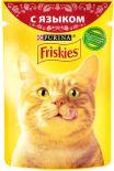 Корм для кошек Friskies с языком в подливе 85г