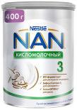 Смесь NAN 3 кисломолочная 400г