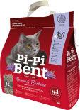 Наполнитель для кошачьего туалета Pi-Pi Bent комкующийся Нежный прованс 12л