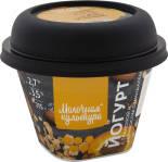 Йогурт Молочная культура с Абрикосом Миндалем и гранолой 2.7-3.5% 215г