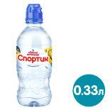 Вода Святой Источник Спортик питьевая негазированная 330мл