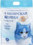 Наполнитель для кошачьего туалета Сибирская кошка Элита силикагель 16л