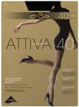 Колготки Omsa Attiva 40 Nero Черные Размер 4