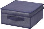 Короб для хранения Hausmann с крышкой 30*30*15см синий