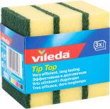 Губки для посуды Vileda Тип-Топ классические 3шт