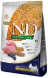 Корм для собак Farmina N&D Low Grain Adult Mini Ягненок с черникой 7кг