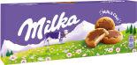 Печенье Milka с молочной начинкой и шоколадом 187г
