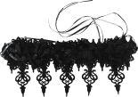Аксессуар для карнавала Корона винтажная готическая