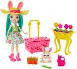 Набор игровой Enchantimals Бри Кроля в саду