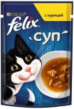 Корм для кошек Felix Суп с курицей 48г
