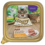 Корм для стерилизованных кошек Stuzzy Pate Cat паштет с курицей 100г
