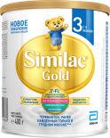 Смесь Similac Gold 3 молочная с 12 месяцев 400г