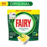 Капсулы для посудомоечных машин Fairy Original All in One 84шт