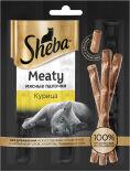 Лакомство для кошек Sheba Meaty мясные палочки Курица 3*4г