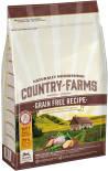 Сухой корм для щенков Country Farms Grain Free Reсipe с курицей 2.5кг
