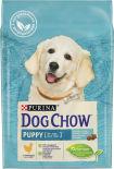 Сухой корм для щенков Dog Chow Puppy с курицей 2.5кг