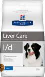 Сухой корм для собак Hills Prescription Diet l/d при заболеваниях печени 12кг