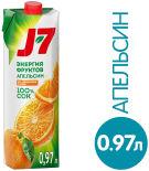 Сок J-7 Апельсиновый с мякотью 970мл