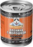 Корм для собак Погрызухин Оленина с морошкой 338г