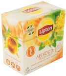 Черный чай Lipton Легкость после еды Фенхель, мята, цветы липы 15 пак