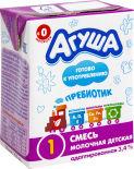 Смесь Агуша 1 Молочная адаптированная 3.4% 200мл