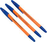 Ручка Erich Krause шариковая R-301 Orange 0.7мм 3шт